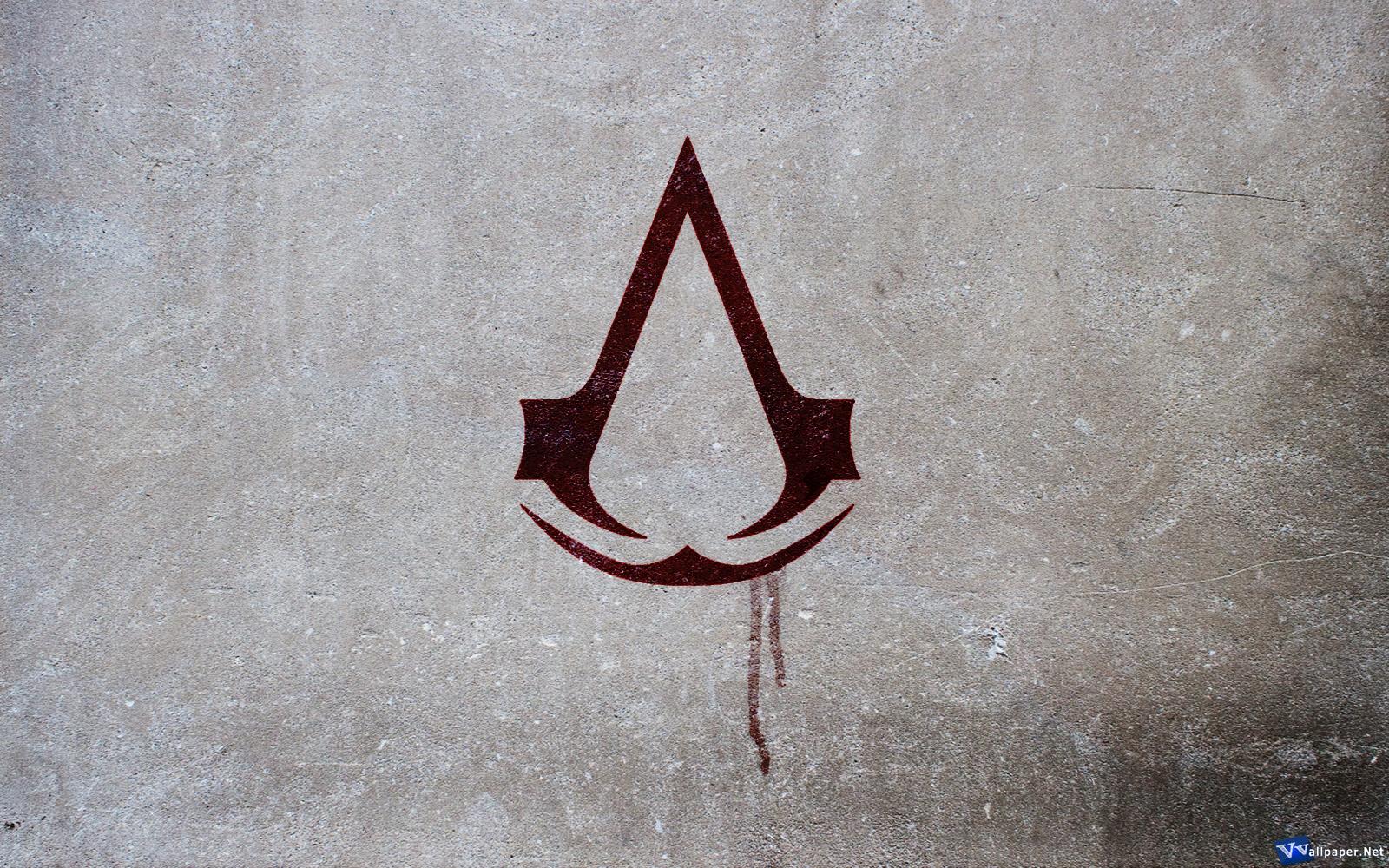 assassins creed logo wallpaper wallpapersafari