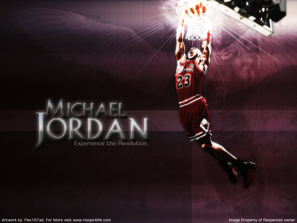 Michael Jordan Dunk Wallpapers 1024x768