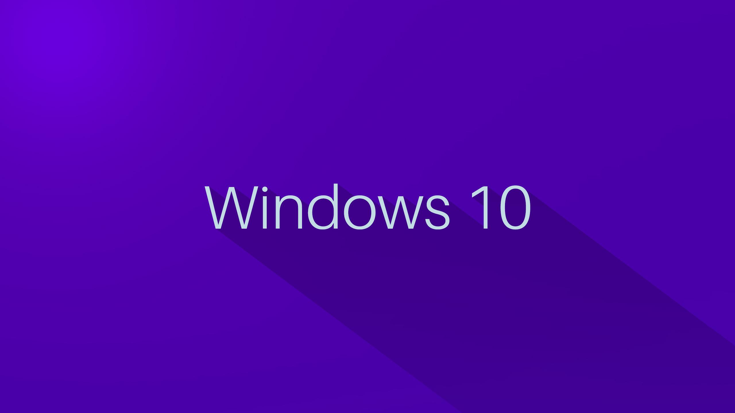 Windows 10 Flat Wallpaper WallpaperSafari