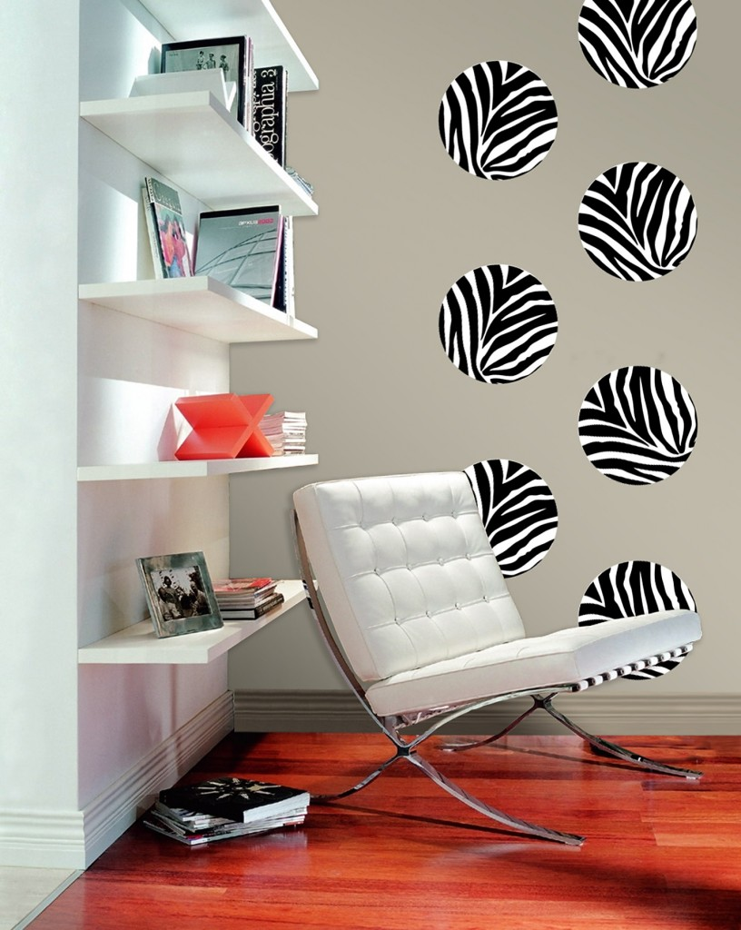 Zebra Art Removable Wall Decals from WallPops Zebra print is all the 816x1024