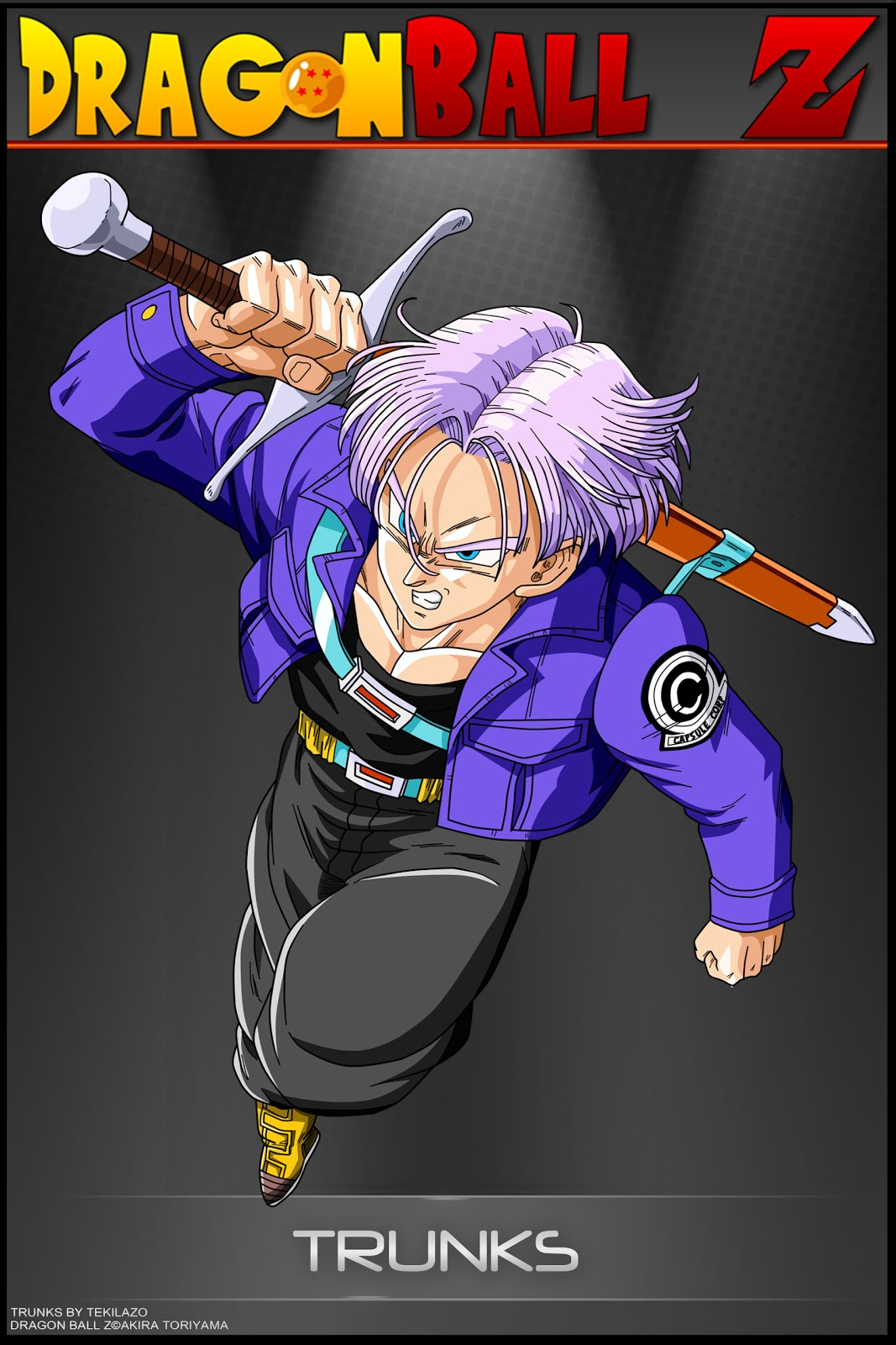DRAGON BALL Z WALLPAPERS Adult trunks 1067x1600