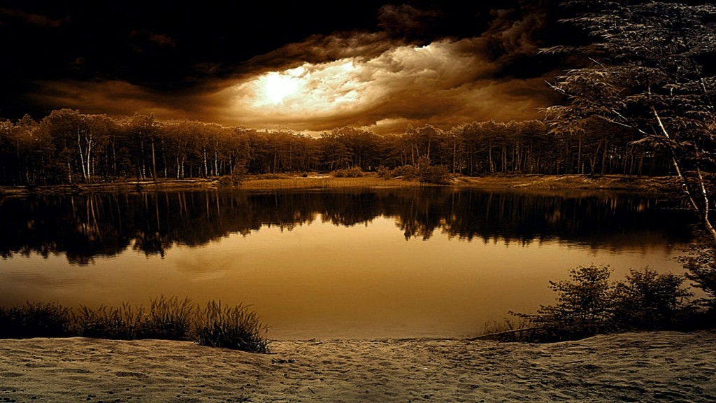 Amazing Nature Wallpapers Hd   Dark Nature Background Hd 166355 1024x576