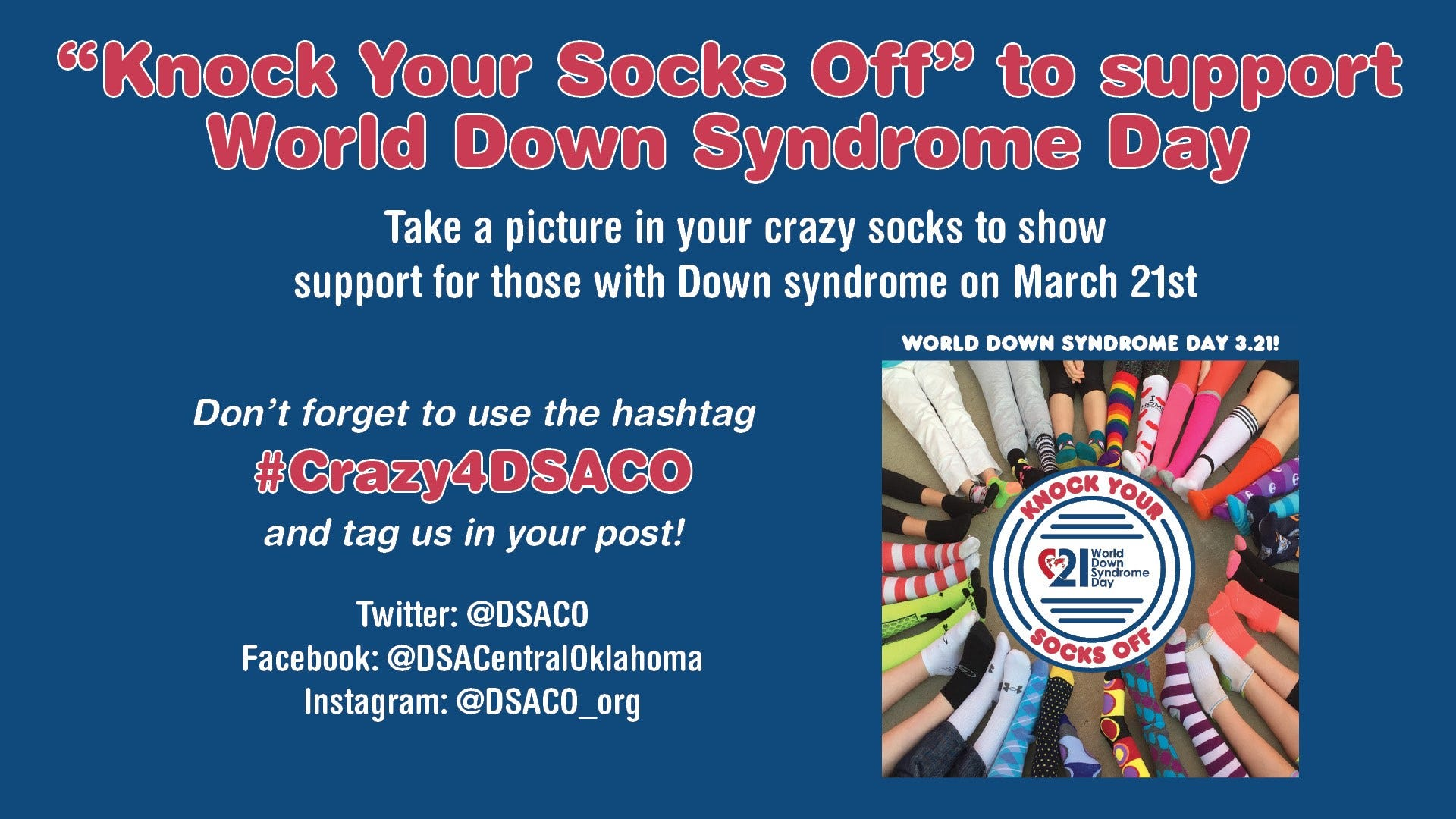 Knock Your Socks Off On World Down Syndrome Day   News 9 1920x1080