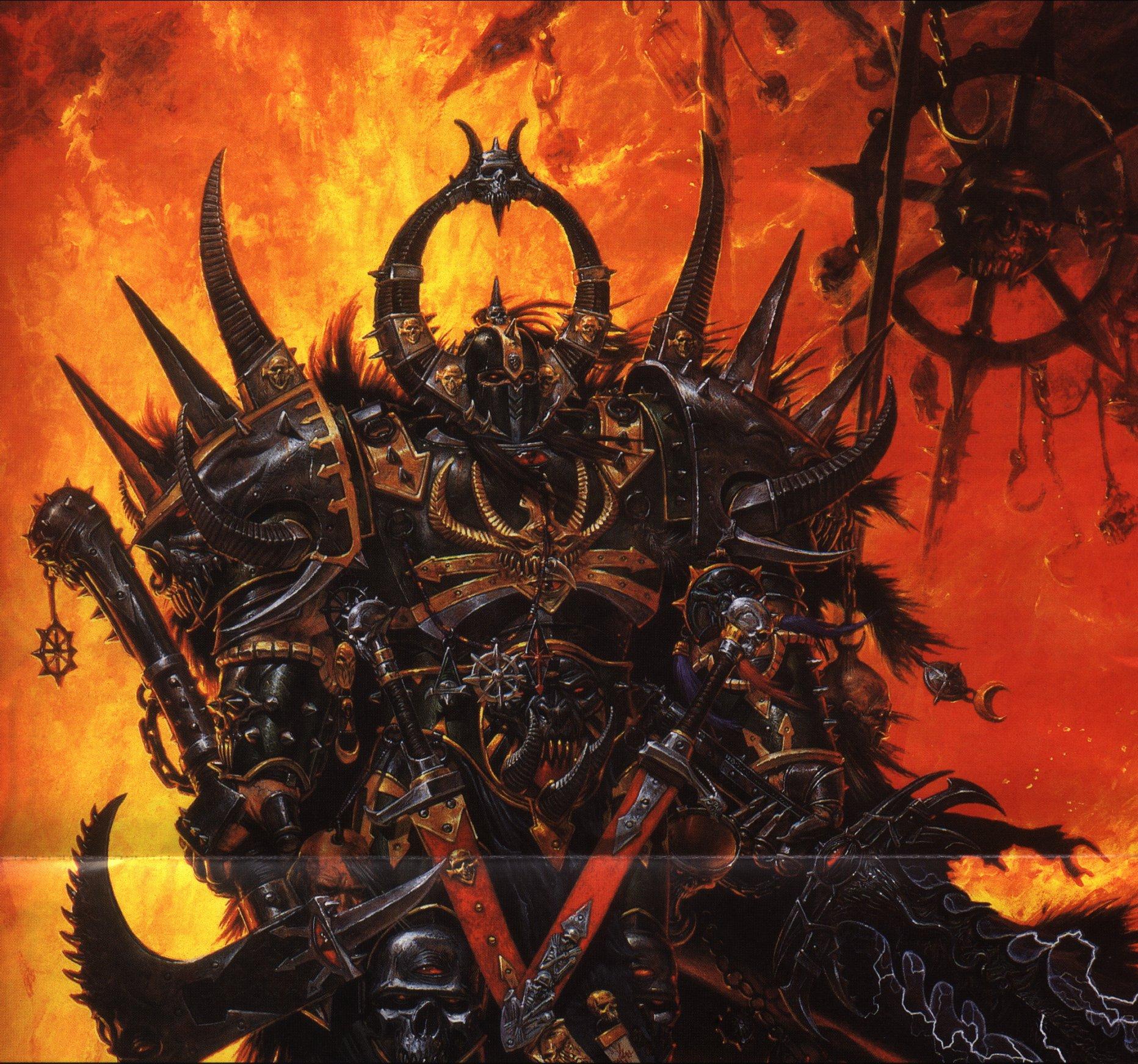 Warhammer 40k Chaos Wallpapers - Wallpaper Cave