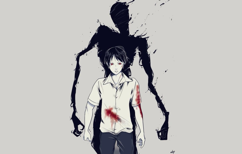 Wallpaper anime art guy Ajin Demi Human Adzhin images for 1332x850