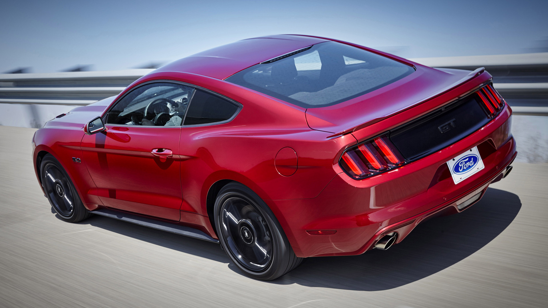 Ford Mustang GT Black Accent 2016 Wallpapers and HD Images 1920x1080