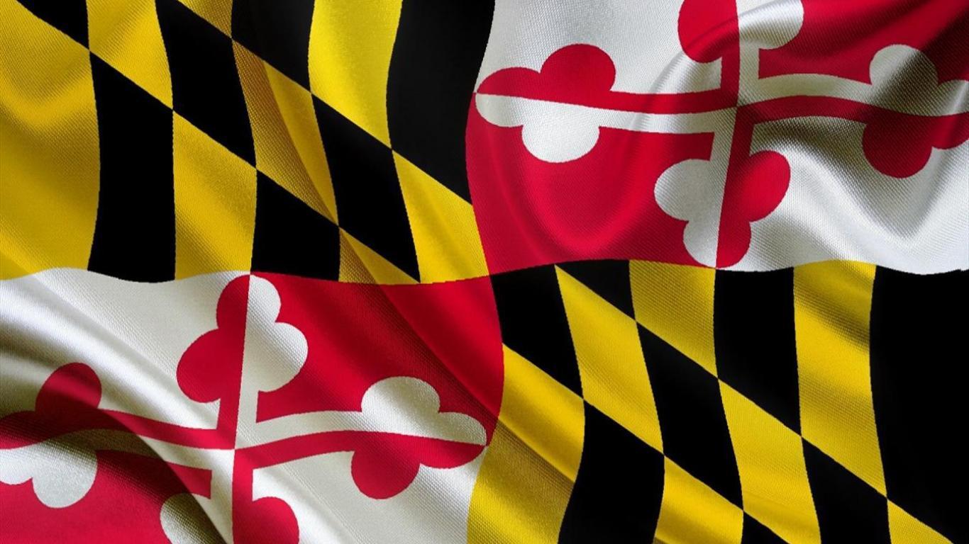 High Resolution Flag: Maryland Flag Wallpaper