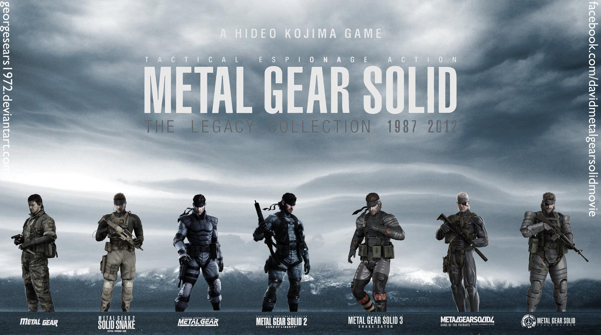Free Download Mgs Legacy Collection Wallpaper With Logos By