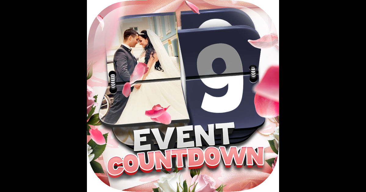 Event Countdown Beautiful Wallpaper   Wedding Pro App Store 1200x630