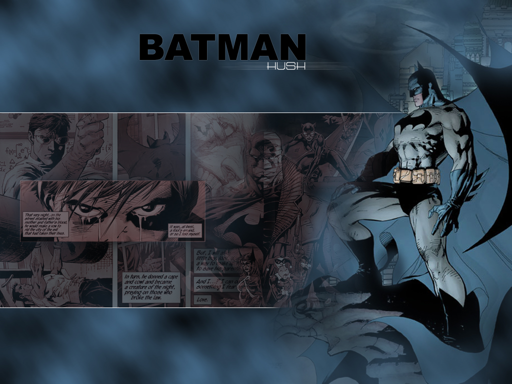 Batman Hush Wallpaper 1024x768