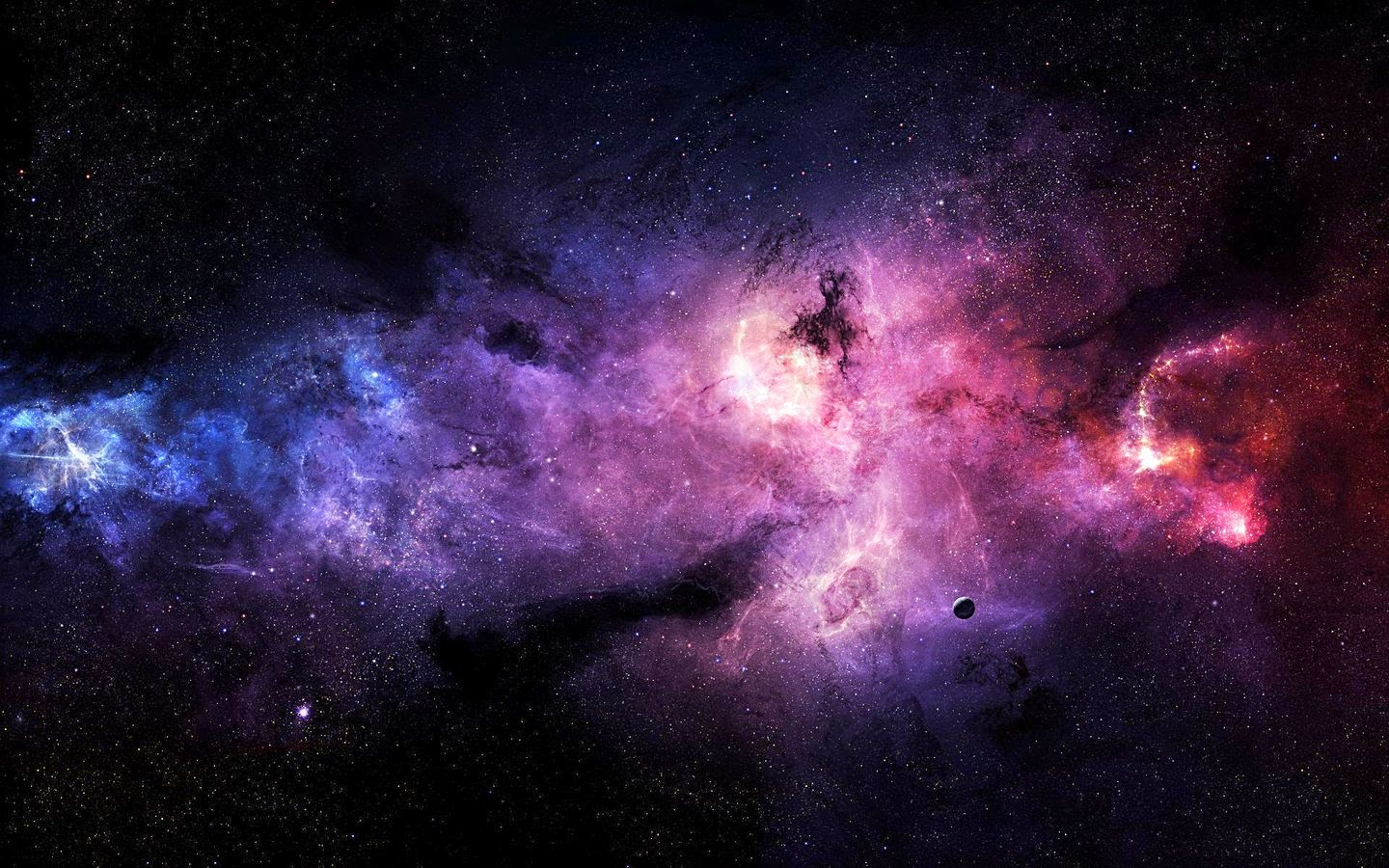 Space Images in high resolution for High Definition Backgrounds 1440x900