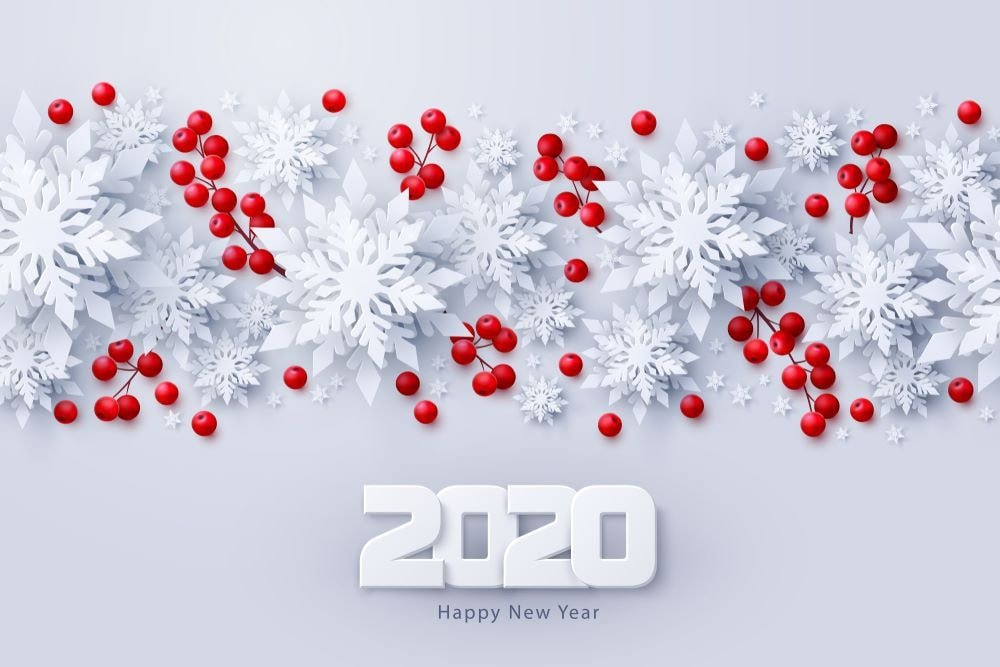 Happy New Year 2020 HD Wallpapers   POETRY CLUB 1000x667