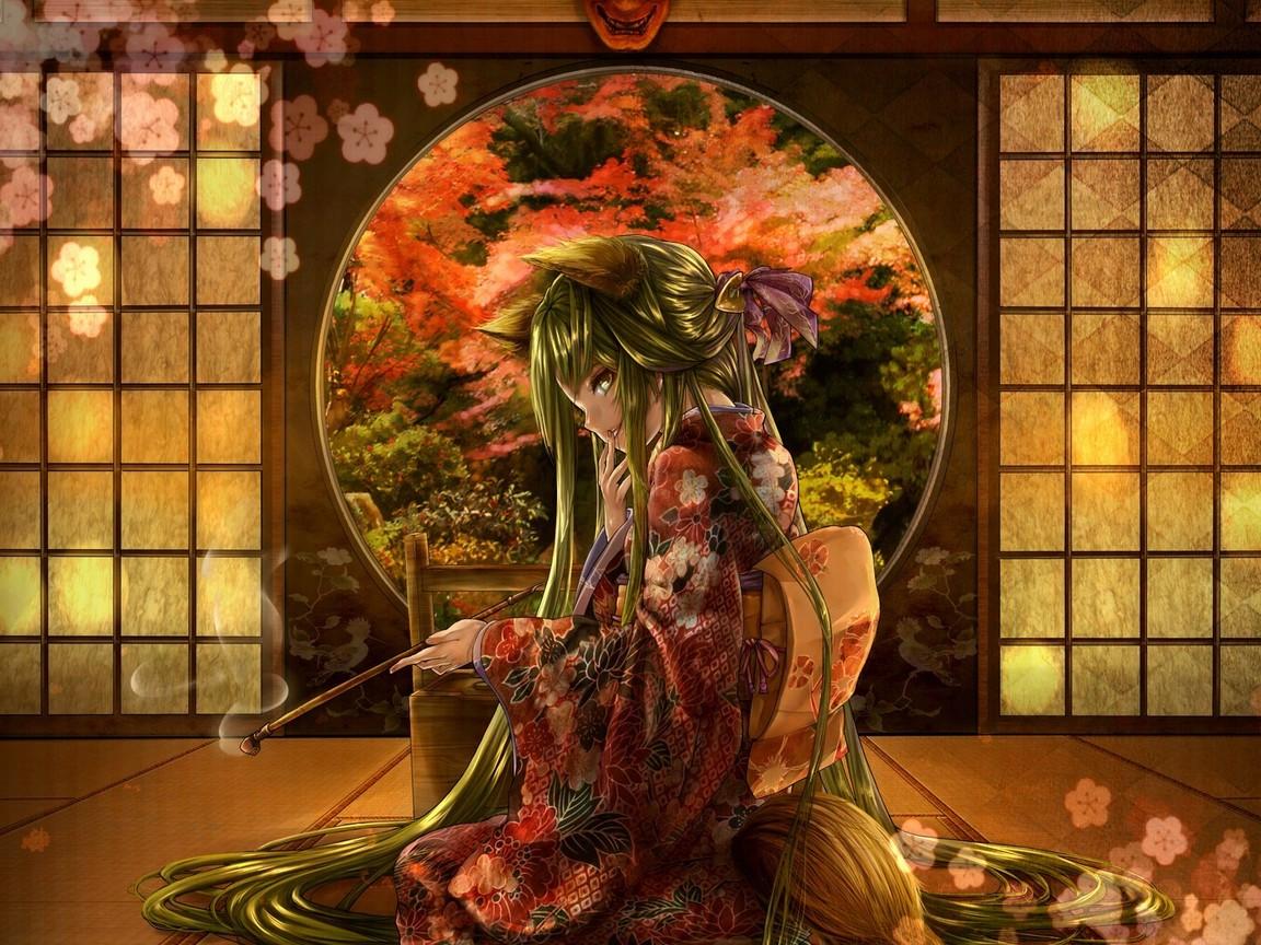 Geisha wallpaper   ForWallpapercom 1152x864