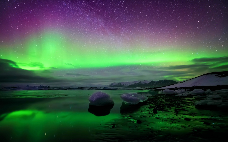 Pretty Northern Lights Hd Fondos de pantalla High Definition Real 1440x900