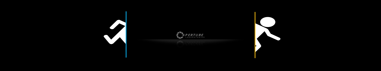 Triple Monitor Portal Wallpaper 5760x1080 5760x1080