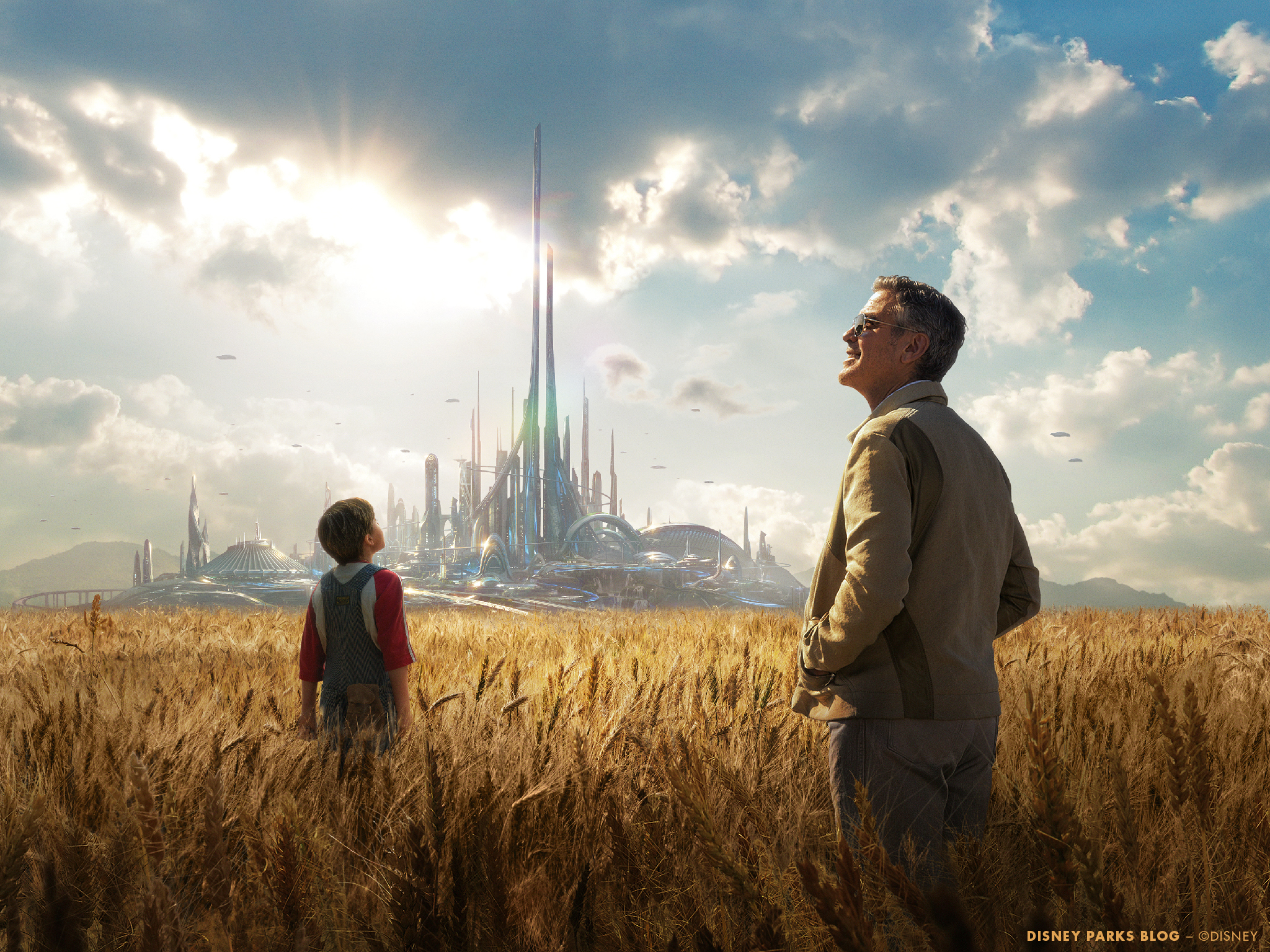Tomorrowland Wallpaper To Celebrate Films Release 2048x1536