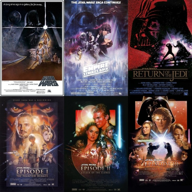 49 Star Wars Movie Poster Wallpaper On Wallpapersafari