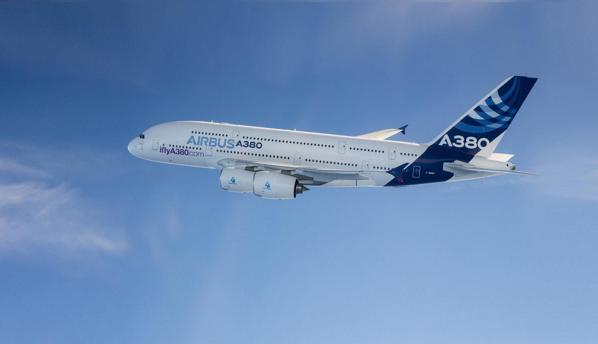 A380   Passenger aircraft   Airbus 1920x1104