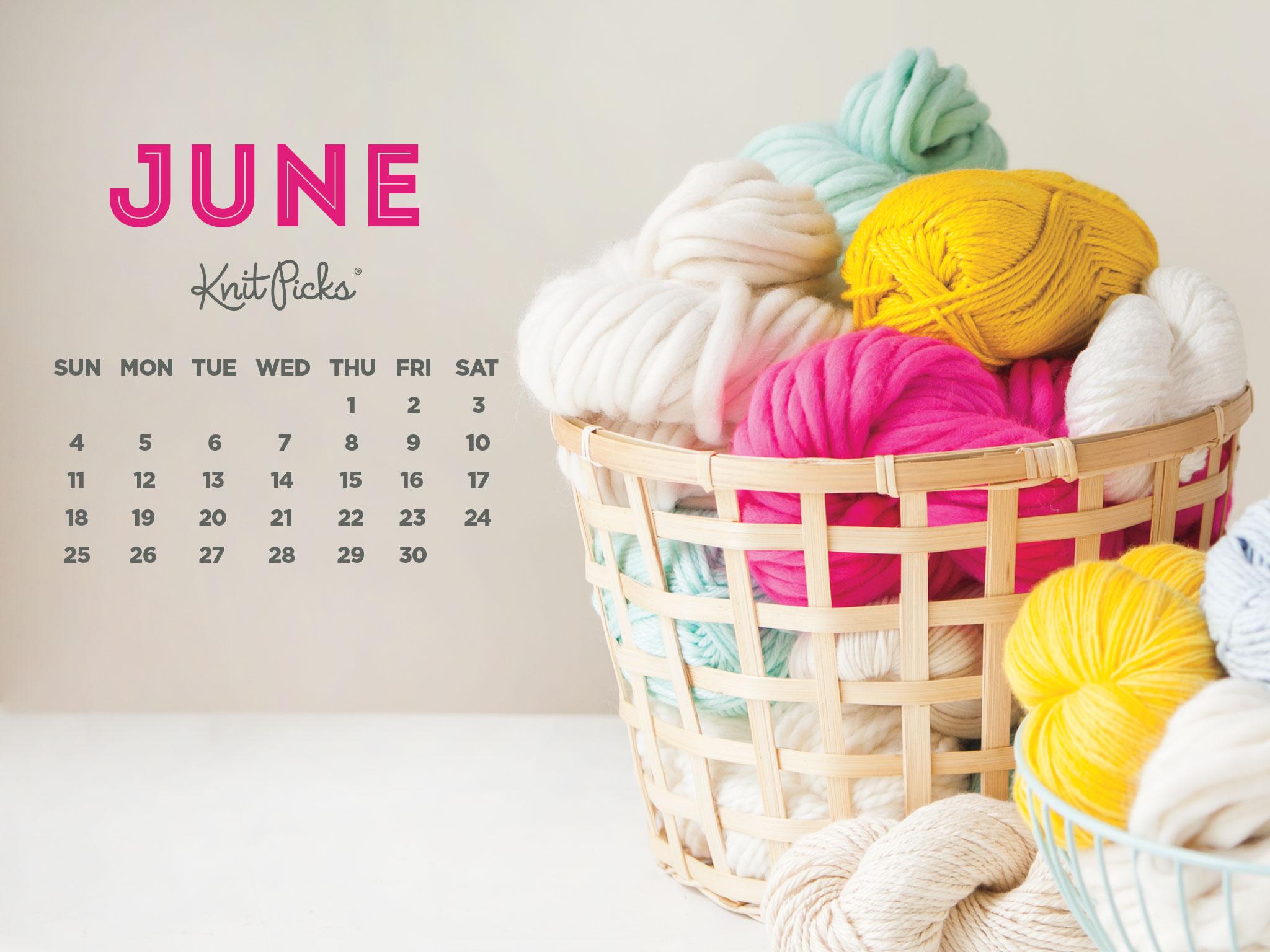Downloadable June Calendar   KnitPicks Staff Knitting Blog 2048x1536
