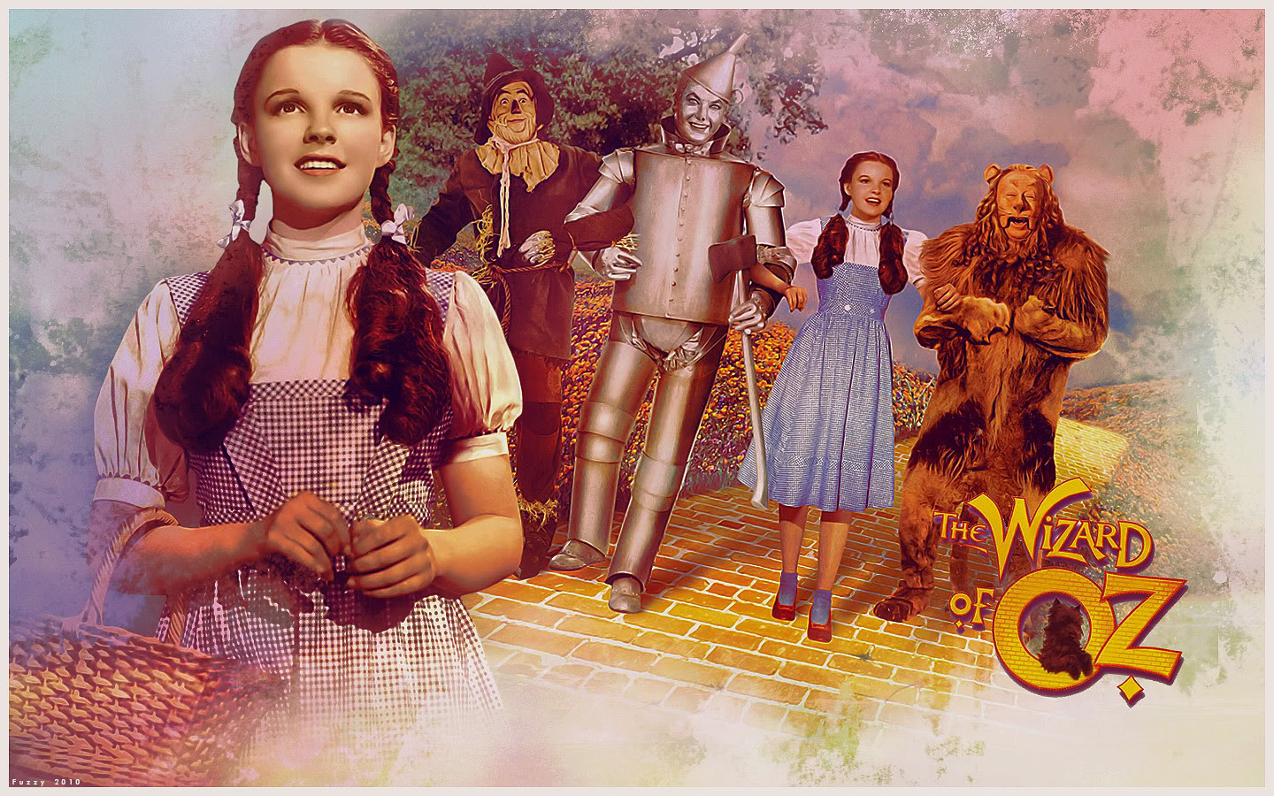 Wizard of oz computer wallpaper wallpapersafari - The wizard of oz hd ...