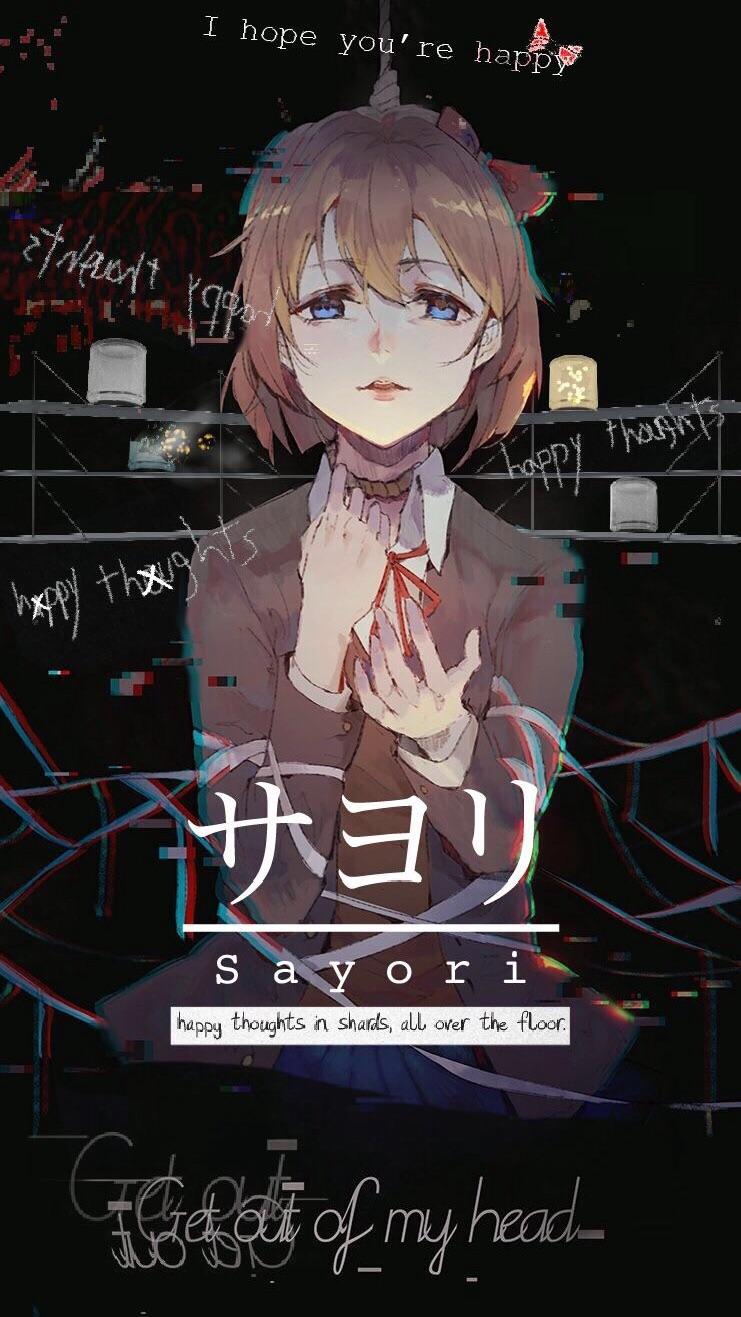 Sayori Wallpaper Ddlc posted by Sarah Walker 741x1317