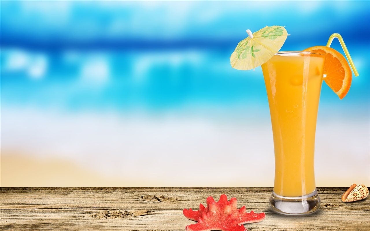 Desktop hd fruit juice wallpapers PPT SUMMER Summer desktop 1280x800