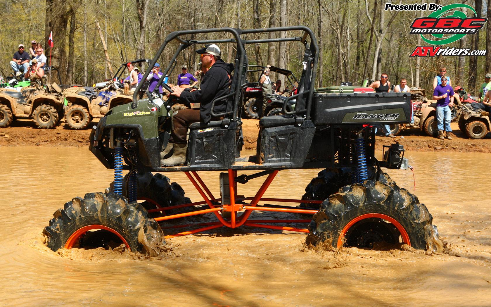 Polaris Ranger Crew UTV   High Lifter Mud Nationals   Wednesday 1680x1050