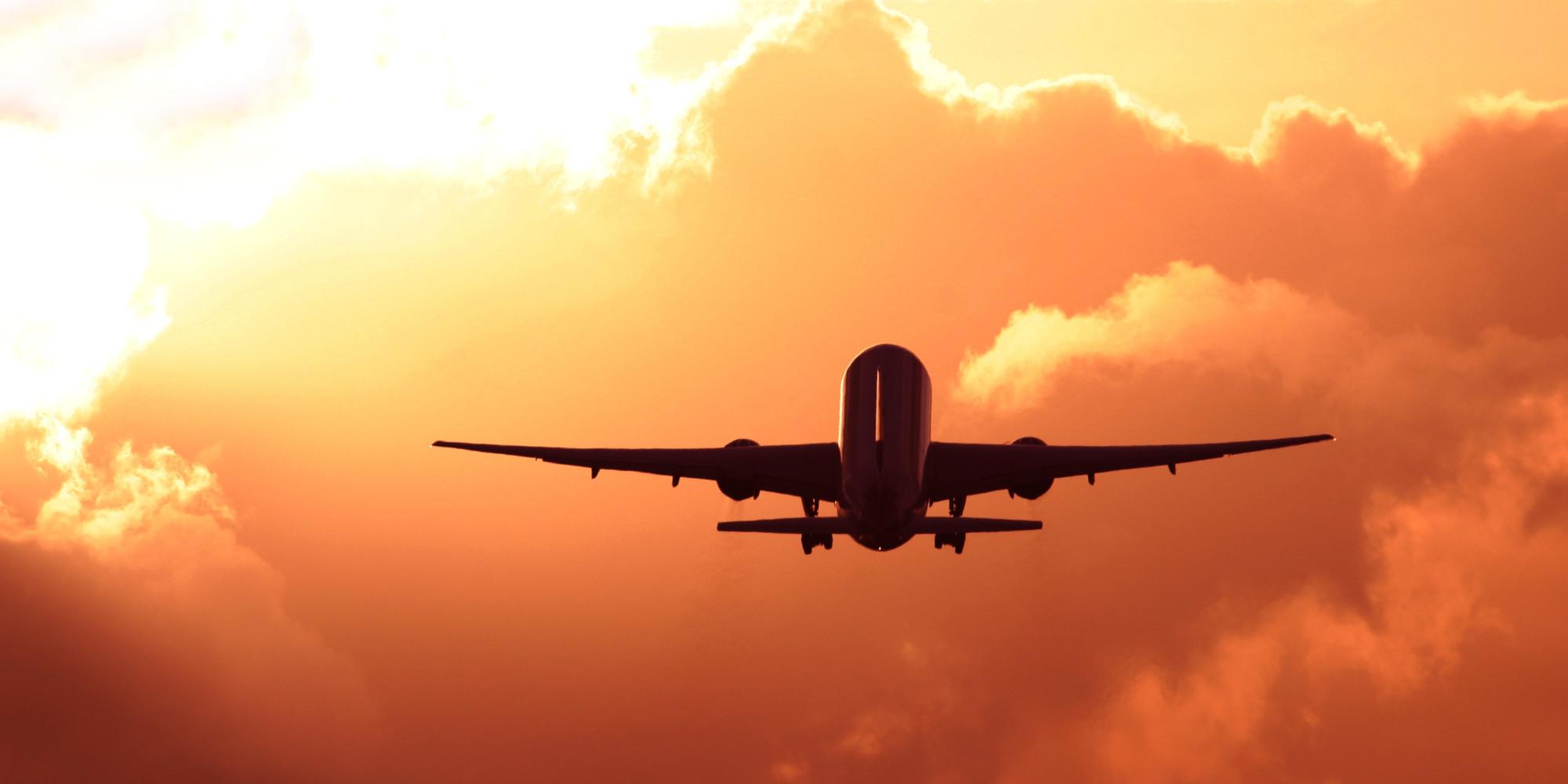 Take Off Airplane Flight Land 2000x1000