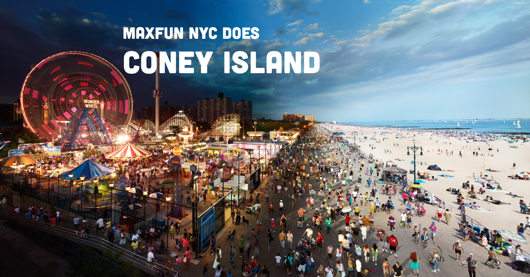 MaxFun NYC Does Coney Island   July 22nd   MaxFun NYC 1815x950