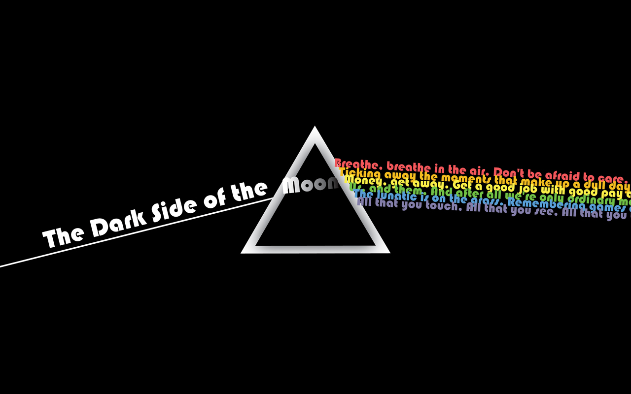 The Dark Side of the Moon by geloso 1280x800