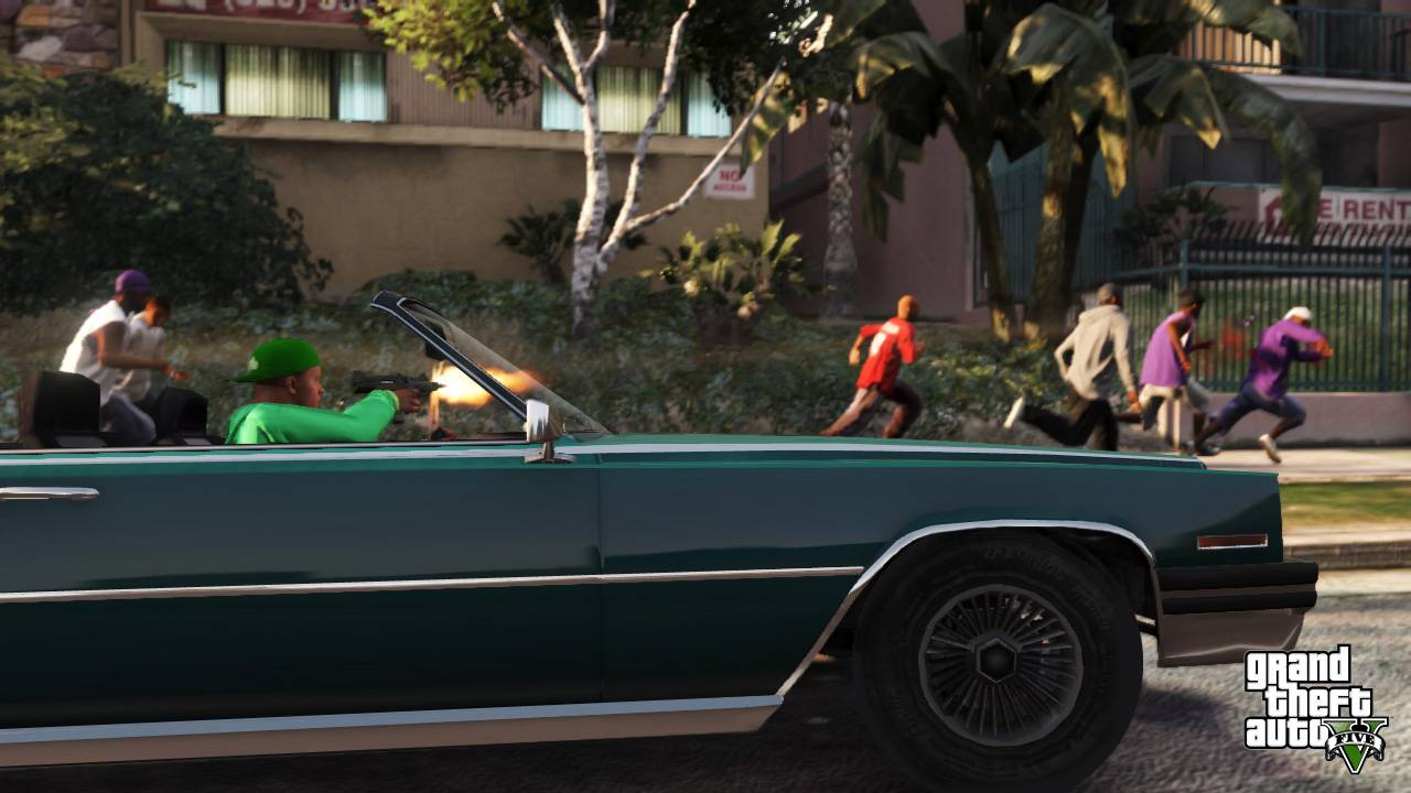 gta v shooting wallpaper gta v latest wallpapers of 2013 game going 1280x720