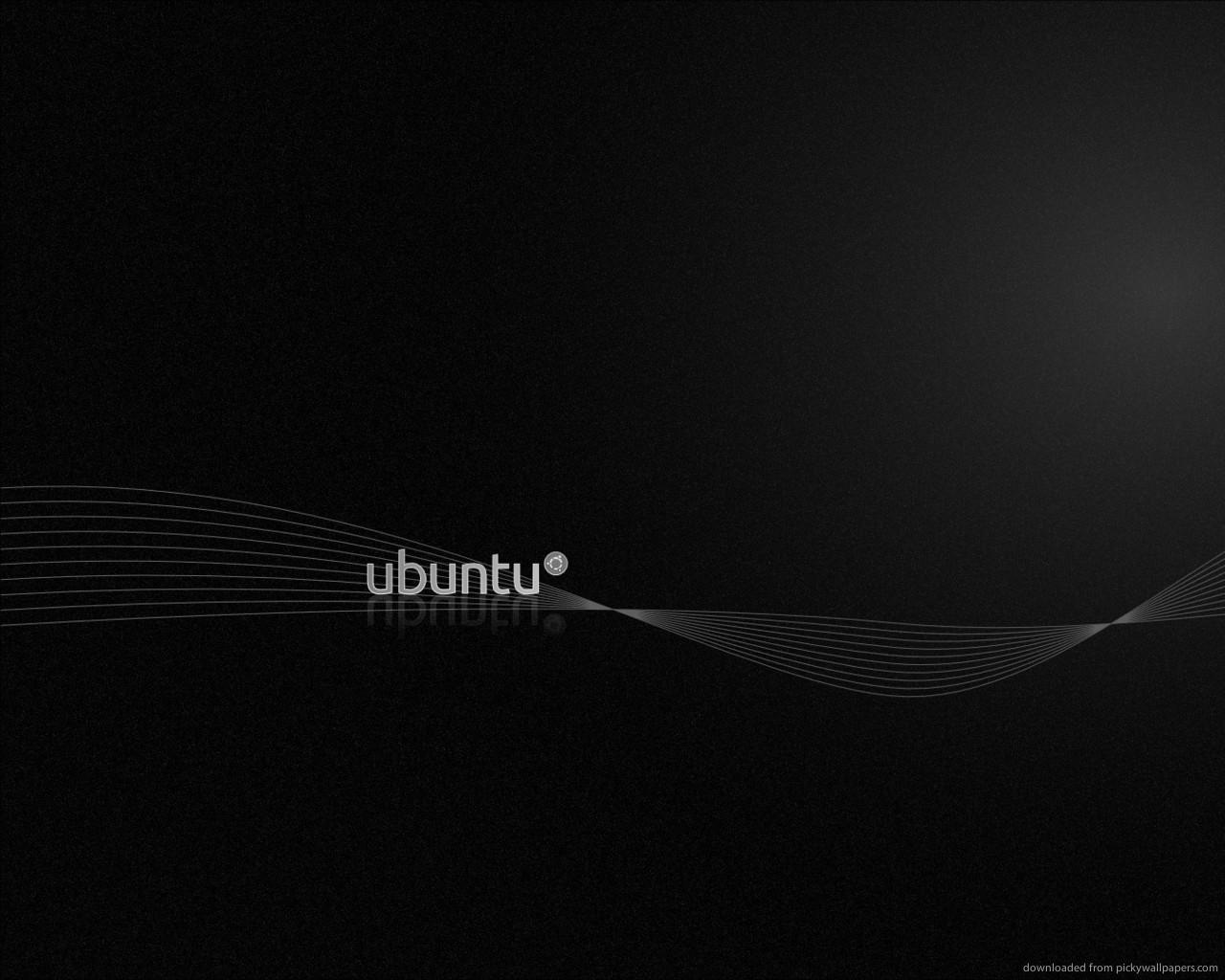 Download 1280x1024 Ubuntu Black Wallpaper 1280x1024