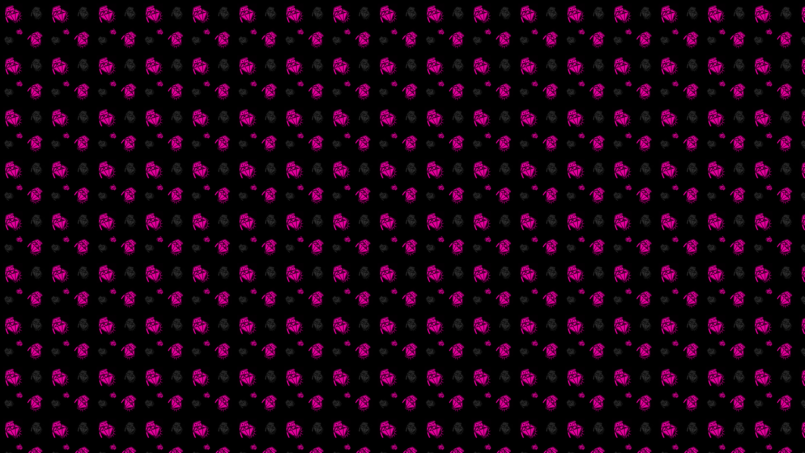 My Wallpaper Place Black Stone Pink Petals Android Wallpaper 2560x1440