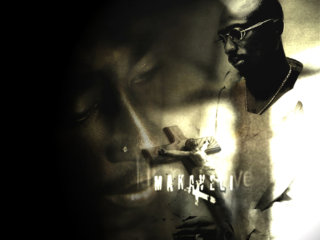 Wallpaper XP wallpaper 2pac   Makaveli 1024x768