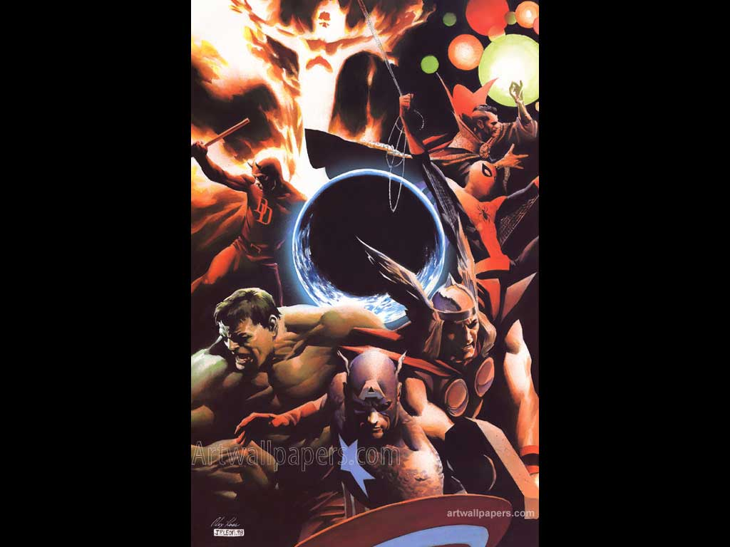 Marvel Comics Wallpapers Posters Desktops Wallpaper 1024x768