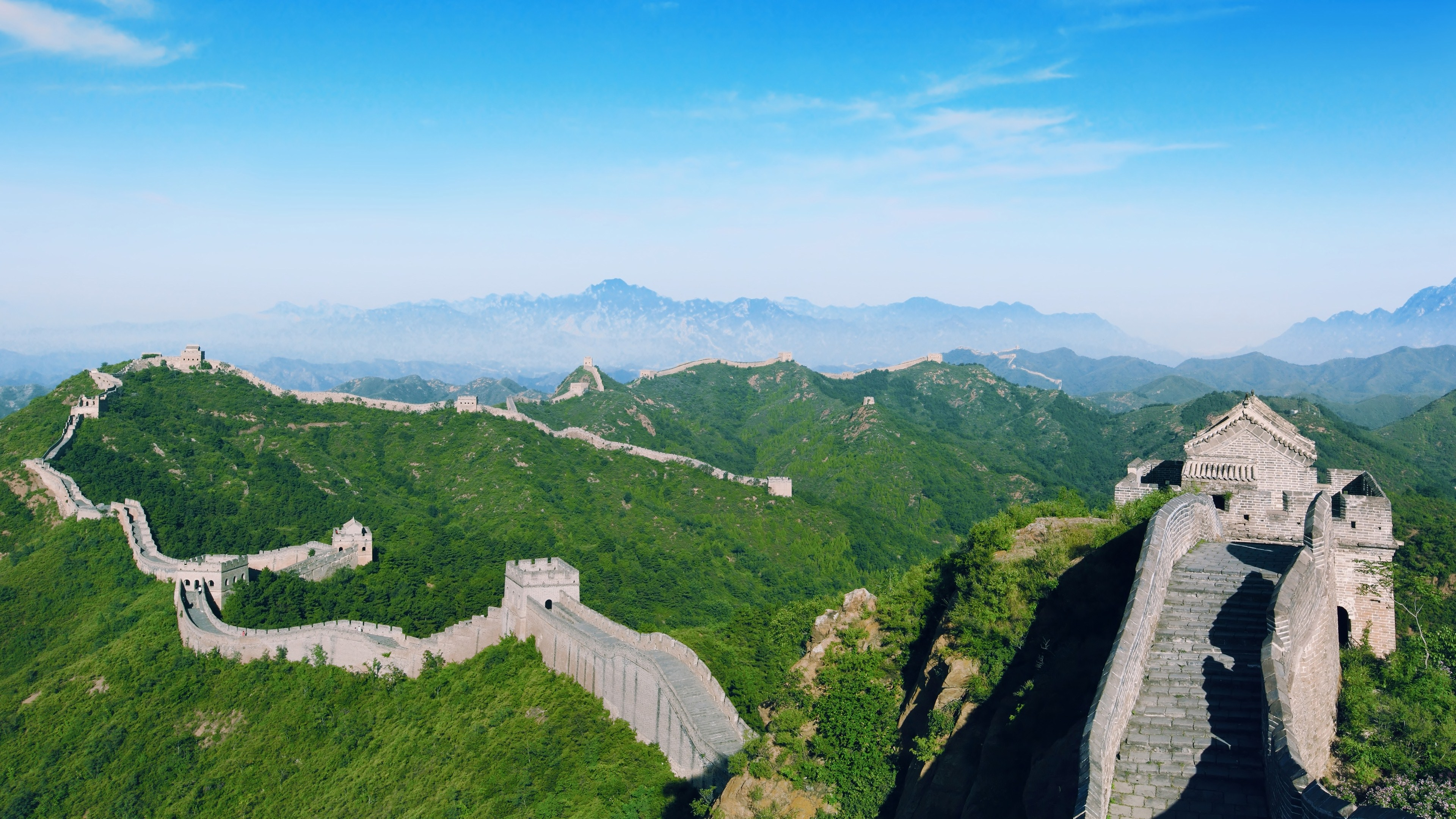 Man Made   Great Wall Of China China Wallpaper 3840x2160