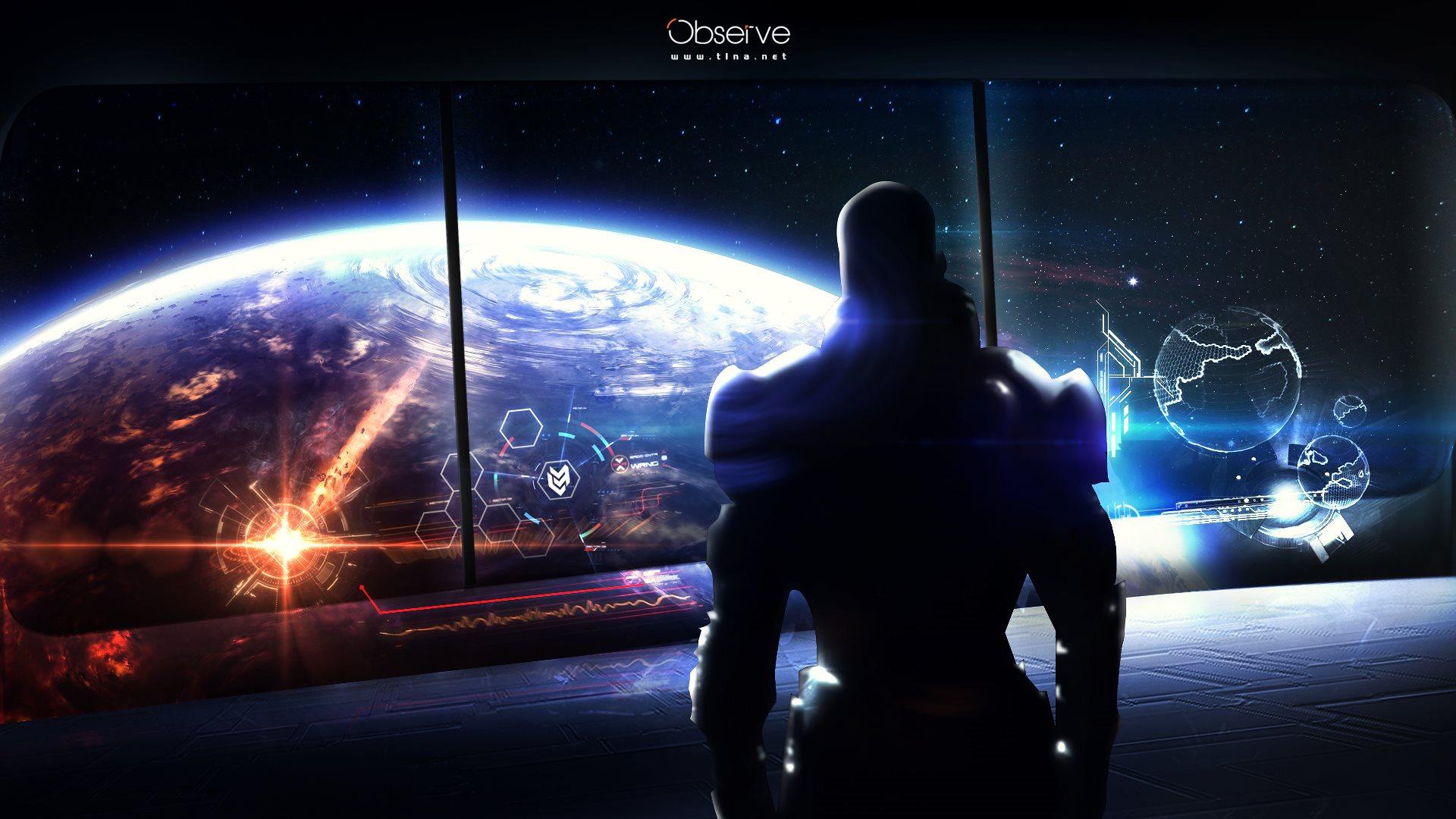Free Download Mass Effect World Of Warcraft Fan Art Wallpapers Hd