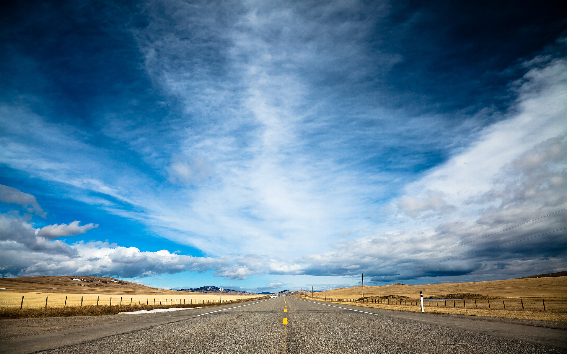 Road and Sky Wallpapers HD Wallpapers 1920x1200