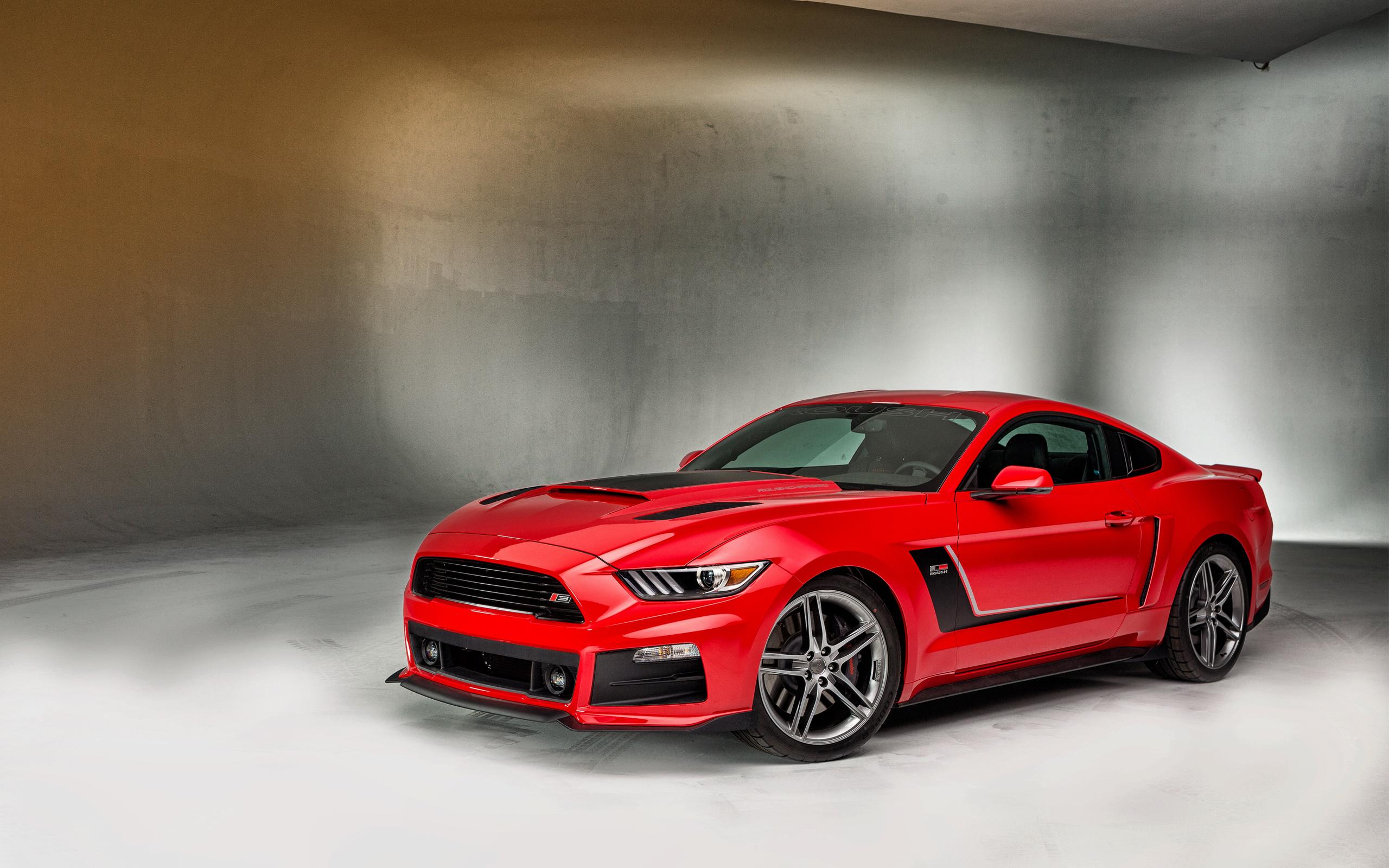 Ford Mustang Wallpaper Black