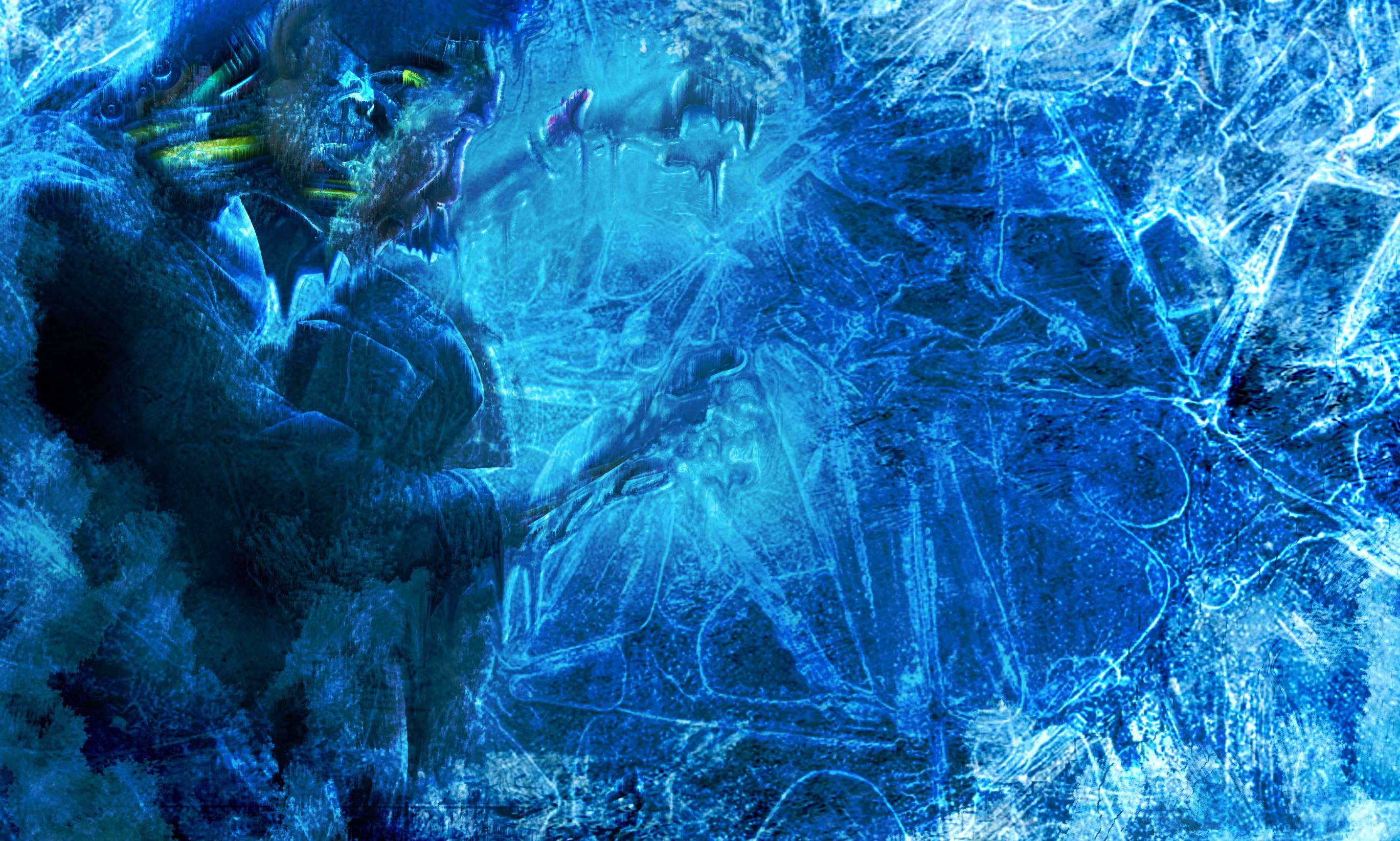 frozen cyborg by irfansisi 2738x1645
