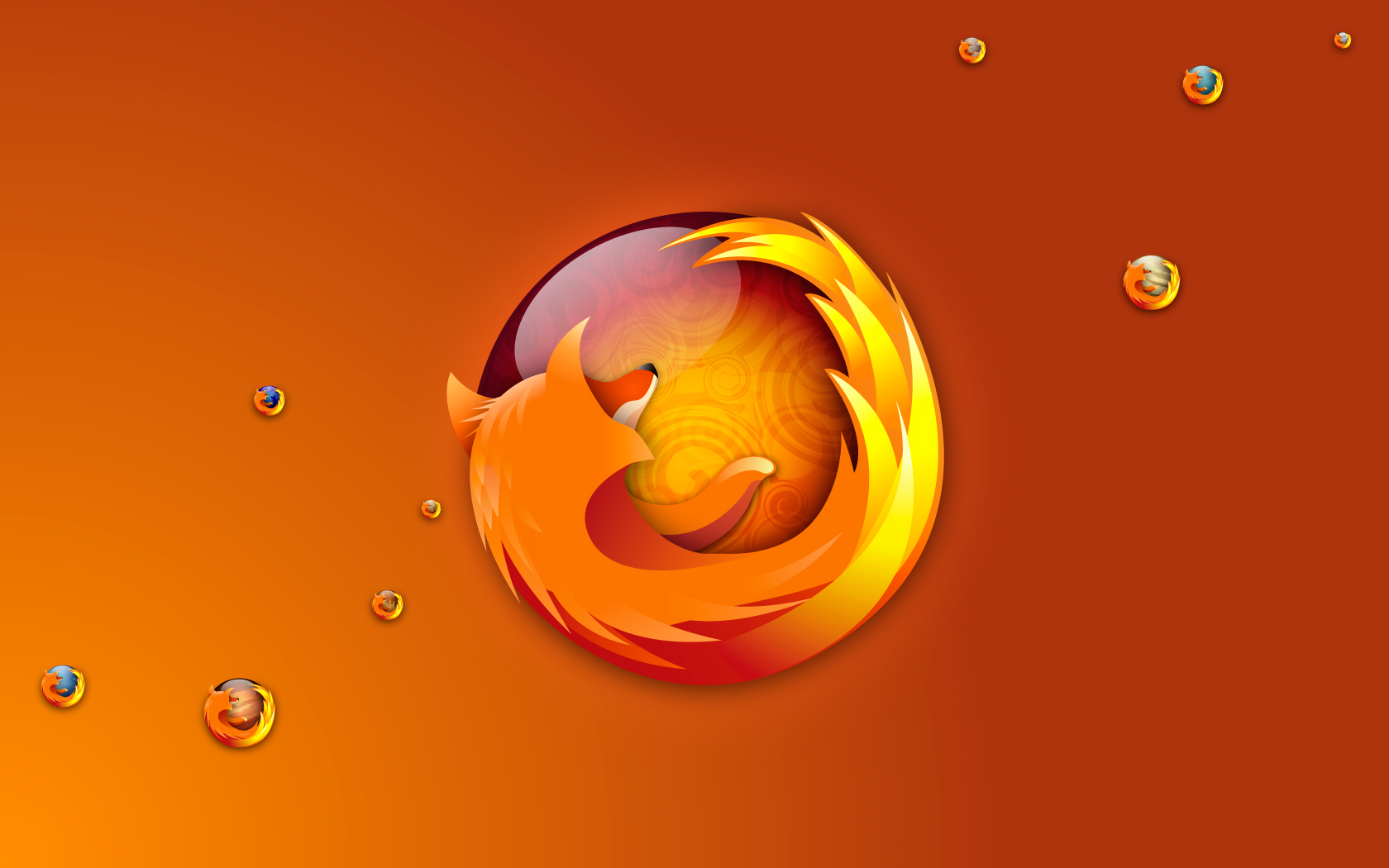 Firefox Bubbles Wallpapers HD Wallpapers 1680x1050