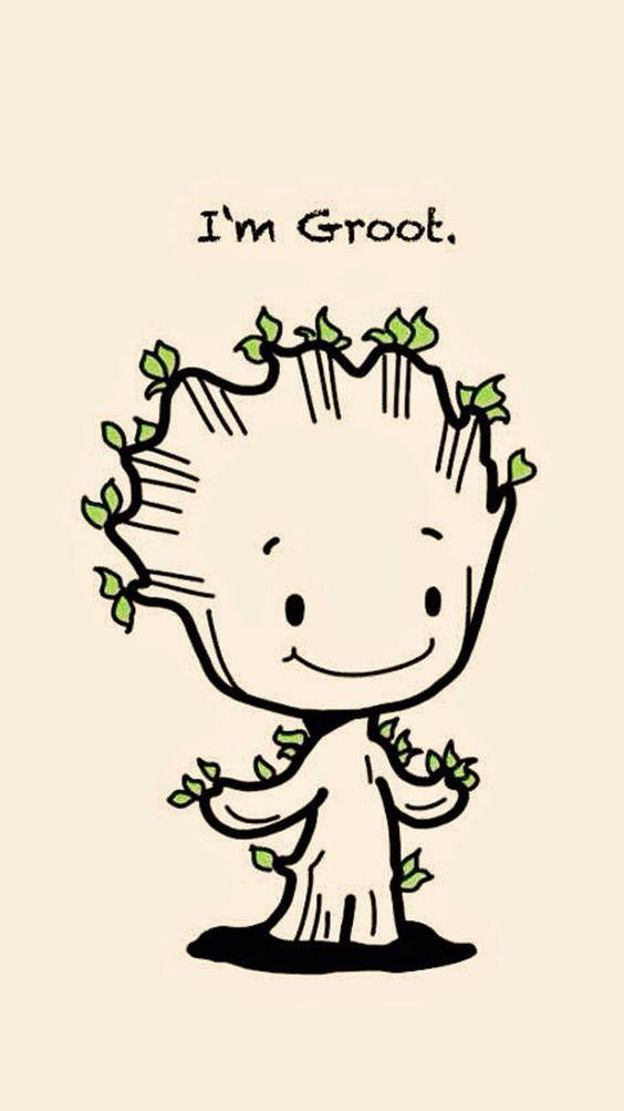 Am Groot Baby Flower iPhone Wallpapers   Best Iphone Wallpapers 564x1003