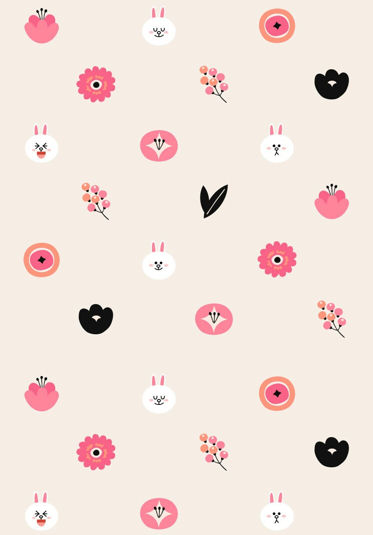 Cony wallpaper We Heart It background wallpaper and cute 744x1066