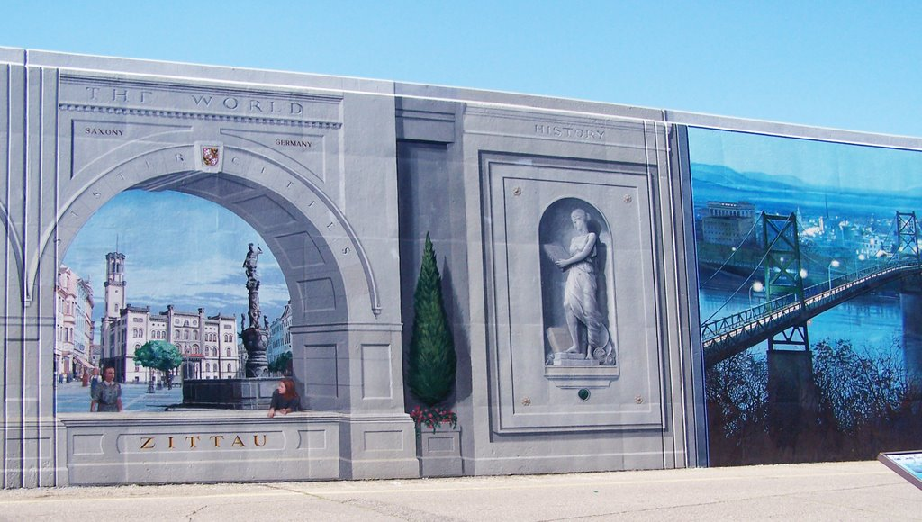 Portsmouth Ohio Flood Wall Murals For Pinterest Part 97