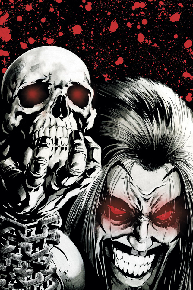 iPhone background Lobo I4 from category cartoons wallpapers for iPhone 640x960