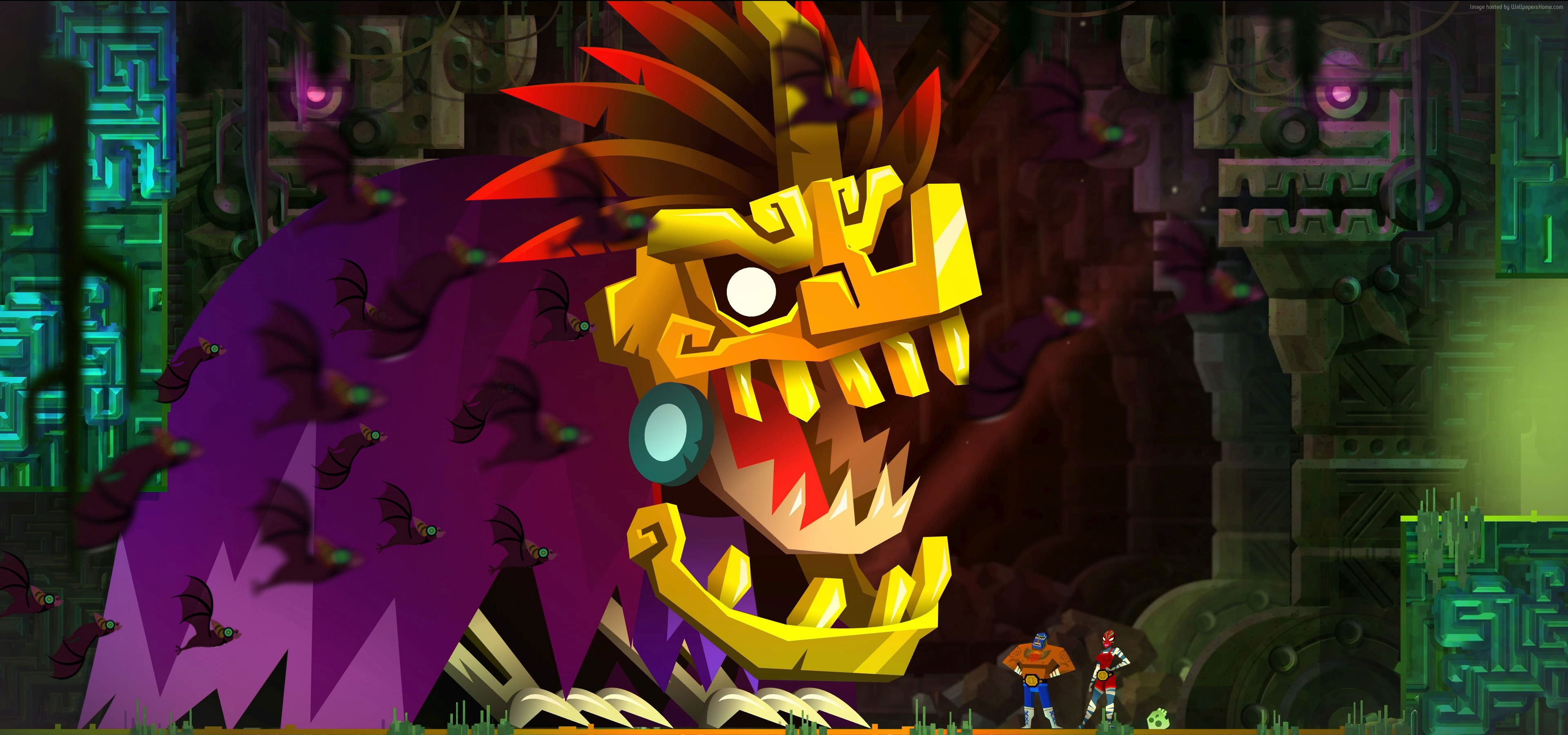 Guacamelee HD Wallpapers and Background Images   stmednet 3840x1800