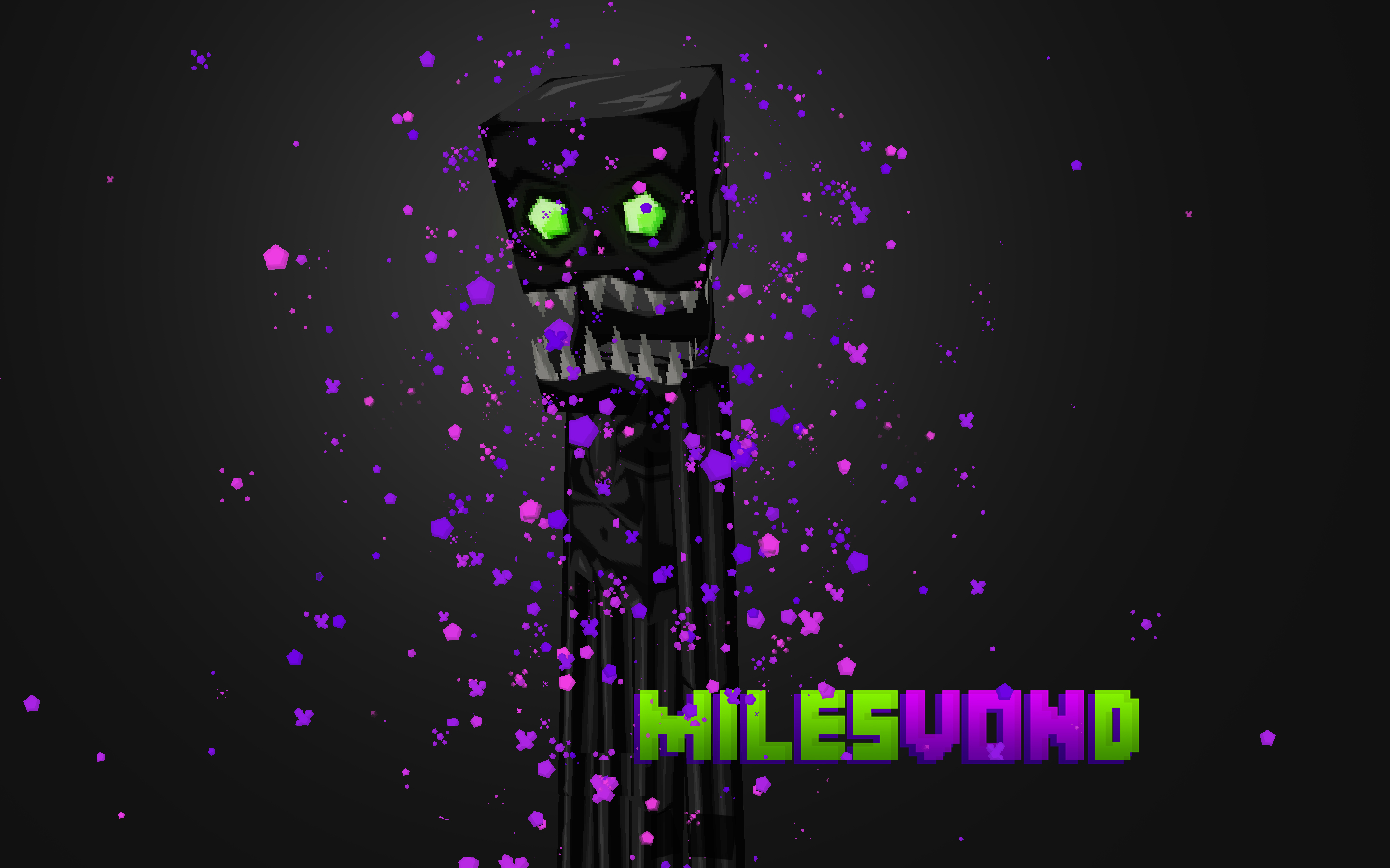 Free Download Enderman Skin Minecraft Enderman Hunter Skin