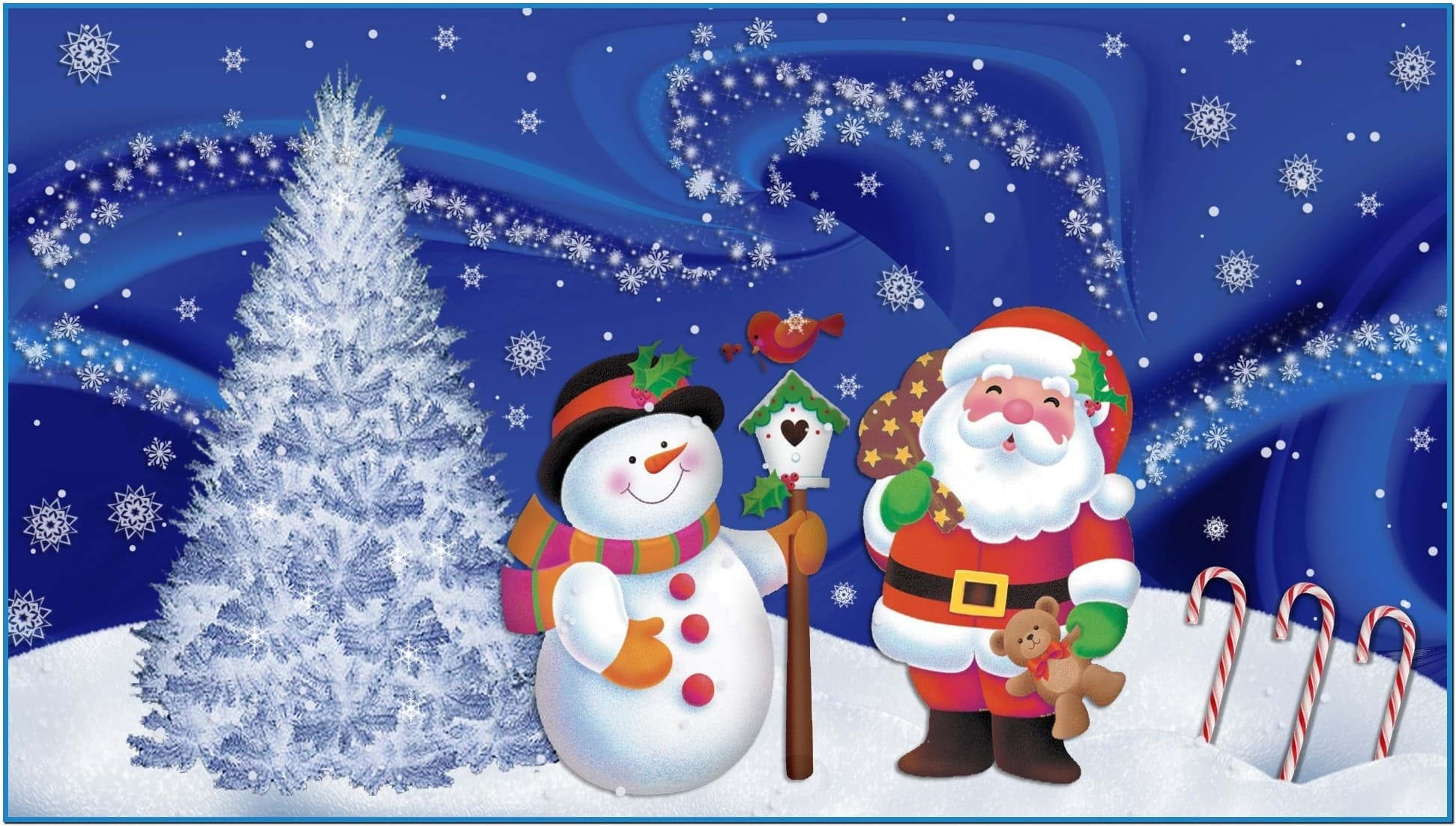 Christmas wallpapers and screensavers   Download 1943x1103