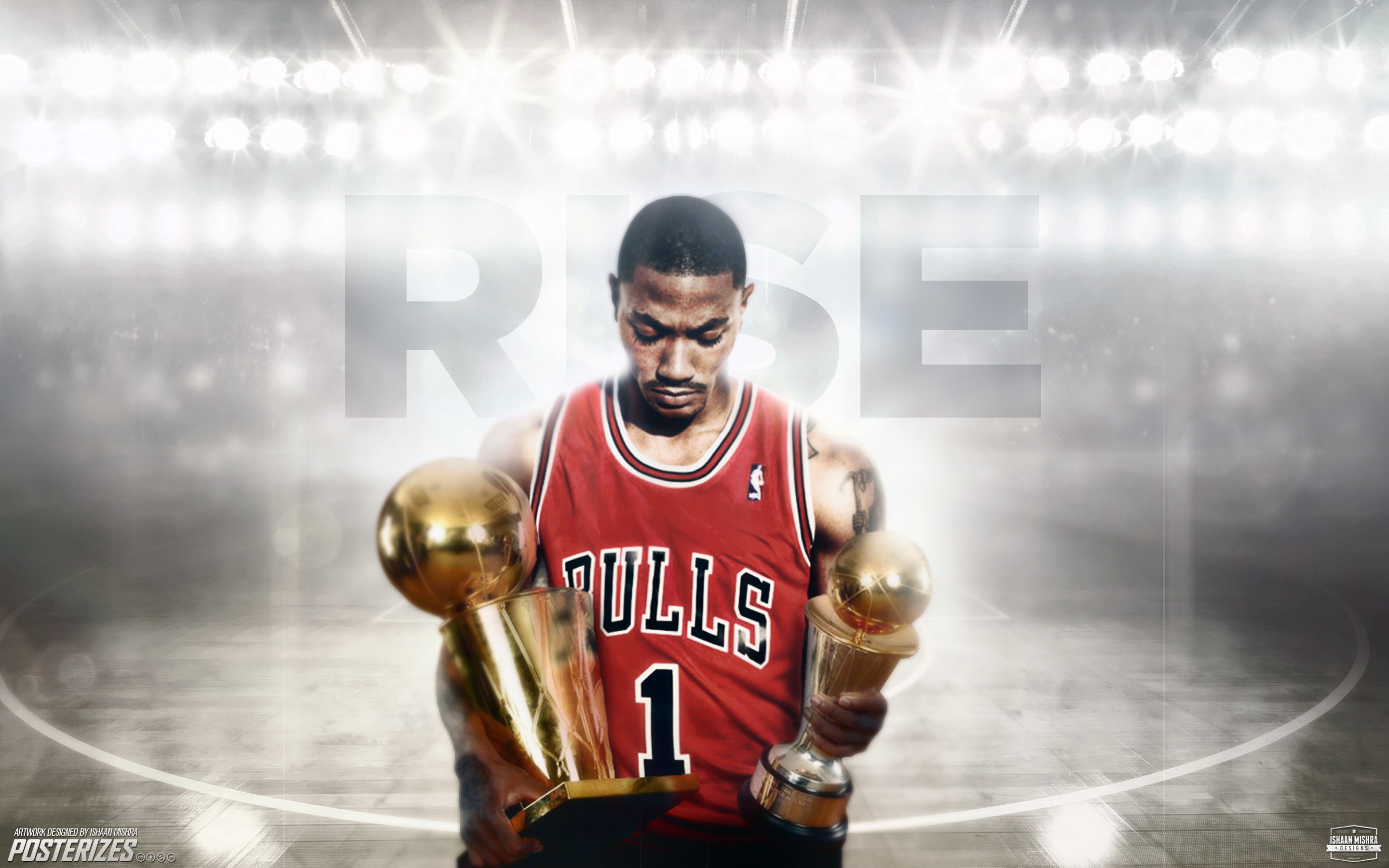 derrick rose wallpaper by ishaanmishra watch customization wallpaper 2880x1800