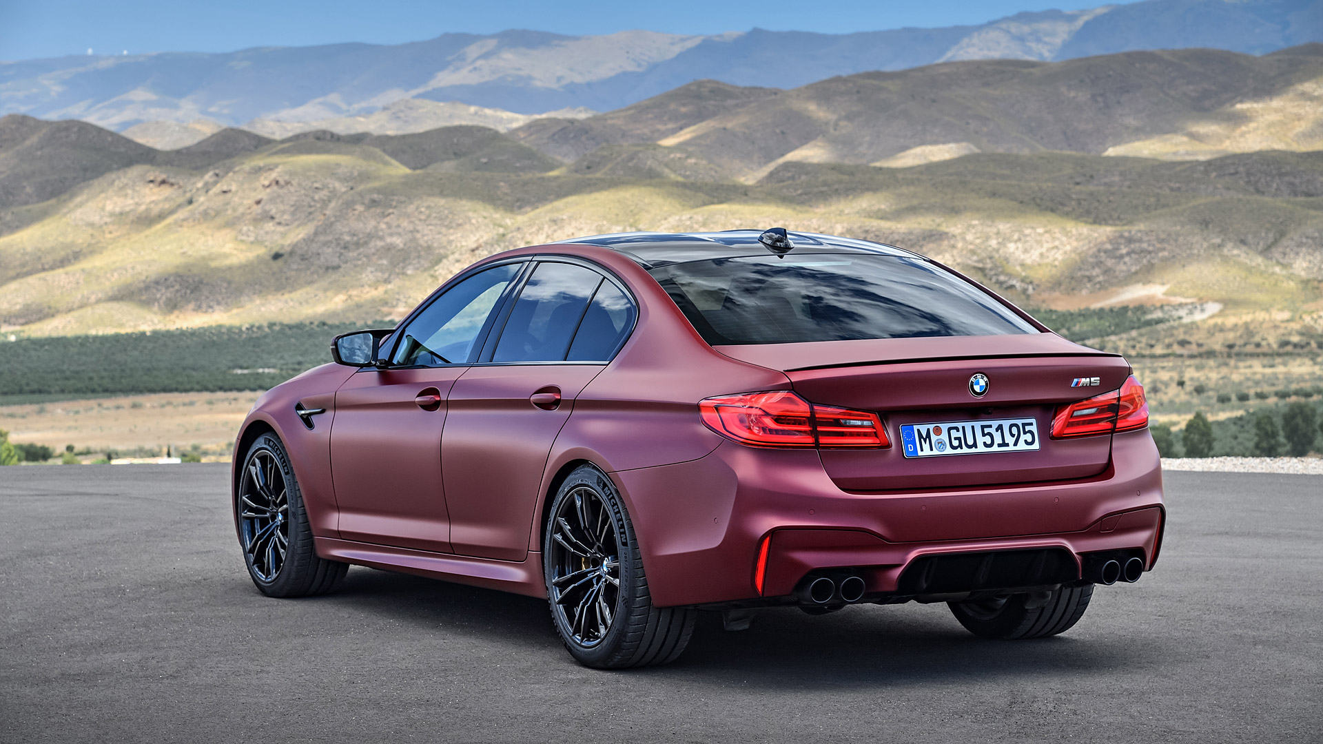 2018 BMW M5 Wallpapers HD Images   WSupercars 1920x1080